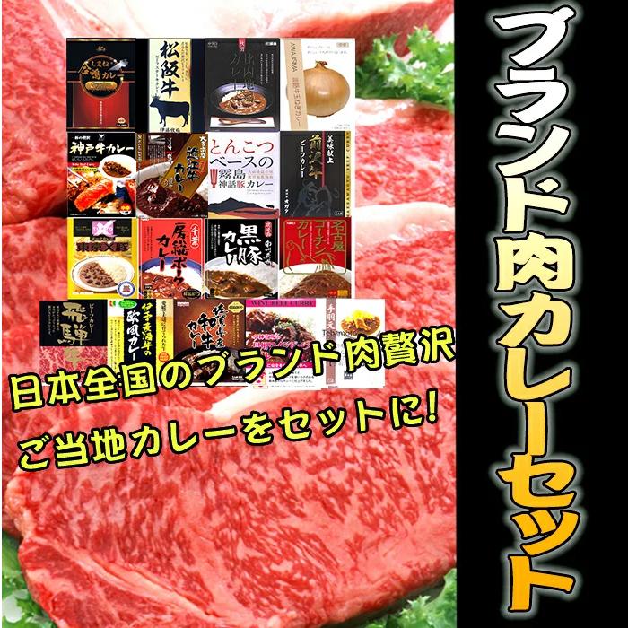 ブランド肉カレーセット 送料込 ※沖縄、離島除く <鶏・豚・牛ブランド肉まつり♪>