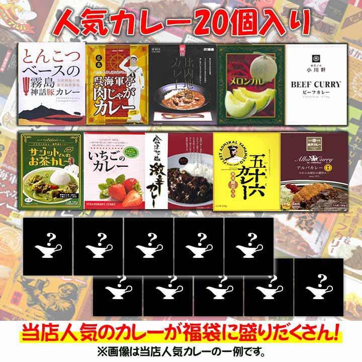 福袋10,000円セット 送料込 <ご当地カレー20個詰め合わせ>