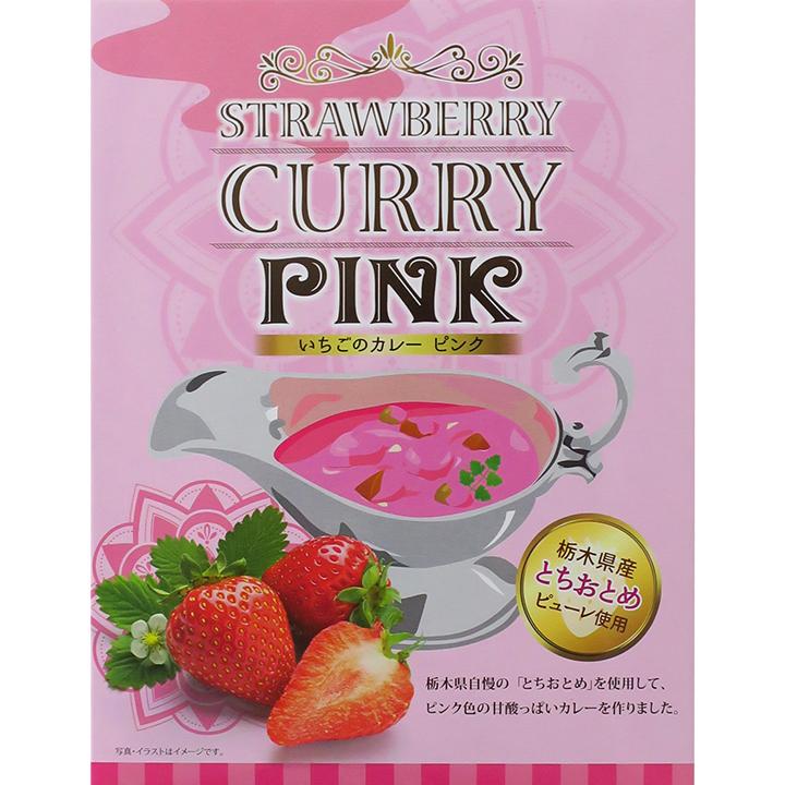 いちごのピンクカレー 24個セット 栃木ご当地カレー