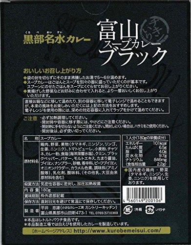 【箱潰れのため10%OFF】富山ブラックスープカレー 富山ご当地カレー