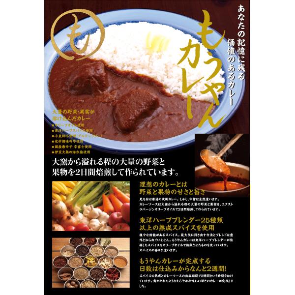 もうやんカレービーフ(牛ほほ肉)40個セット