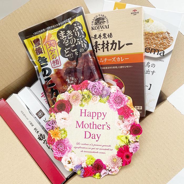 母の日 ご当地カレーセット 7種 母の日ギフト メッセージカード付