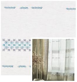 Woven/ブルー・ネイビー