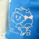 トートバッグ ブルーL