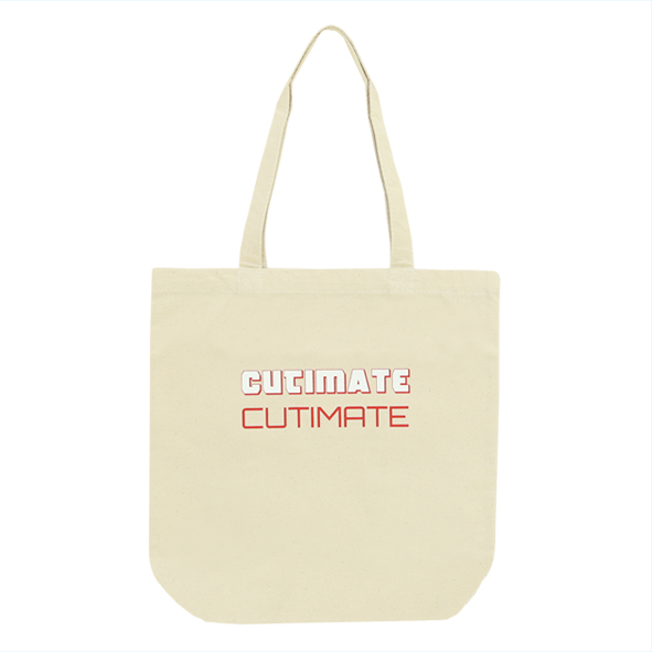 CUTIMATEトートバッグ 白L
