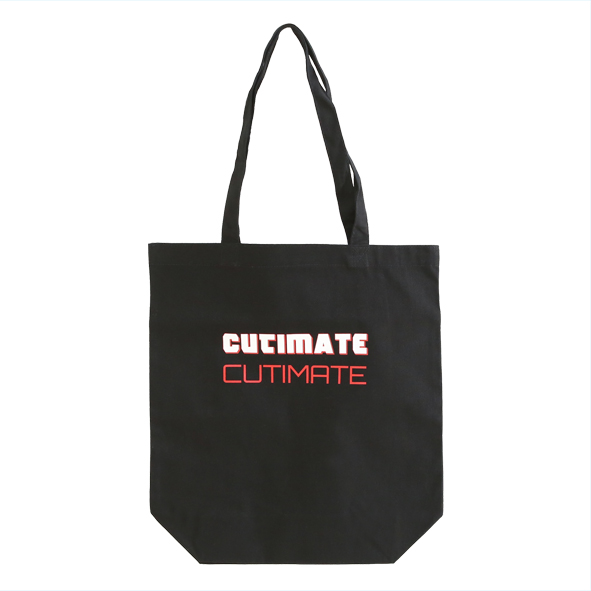 CUTIMATEトートバッグ 黒L