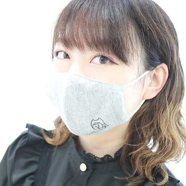 マスク グレー