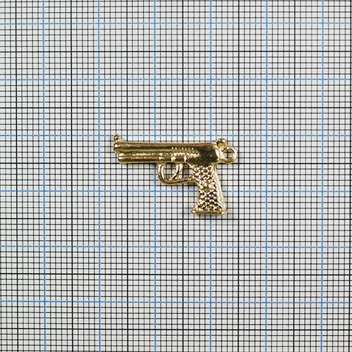 【P50%還元】ピストル CP-295 1個 銃 チャーム