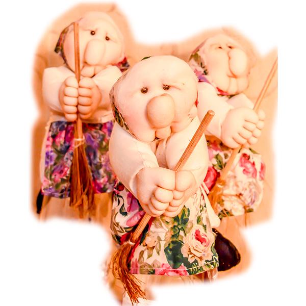 ベファーナ 優しい魔女のおばあさん 2個セット 送料無料 ほのかな香り付き