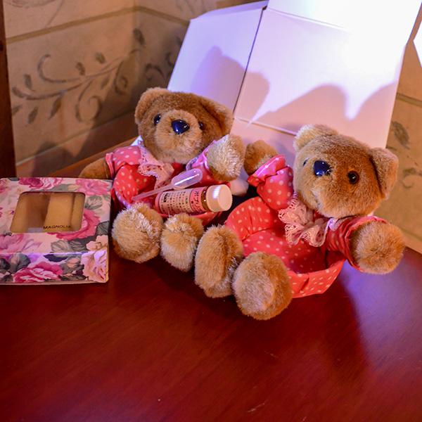 熊の小物入れ 2個とポプリオイル1箱 セット 送料無料