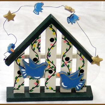 カントリーな置き飾り:小鳥