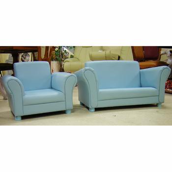 子供家具:st:1人掛け:ブルー【展示品】【ワケアリ】