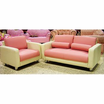子供家具:コンビ:1人掛け:2色