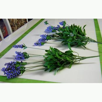 造花:ラベンダーブッシュ
