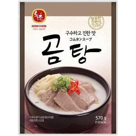 ハウチョン コムタンスープ(テールスープ) 570g  (冷凍商品と同梱不可)