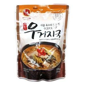 【韓国人気商品】ハウチョン ウゴジスープ (韓国 田舎味噌汁) (冷凍商品と同梱不可)