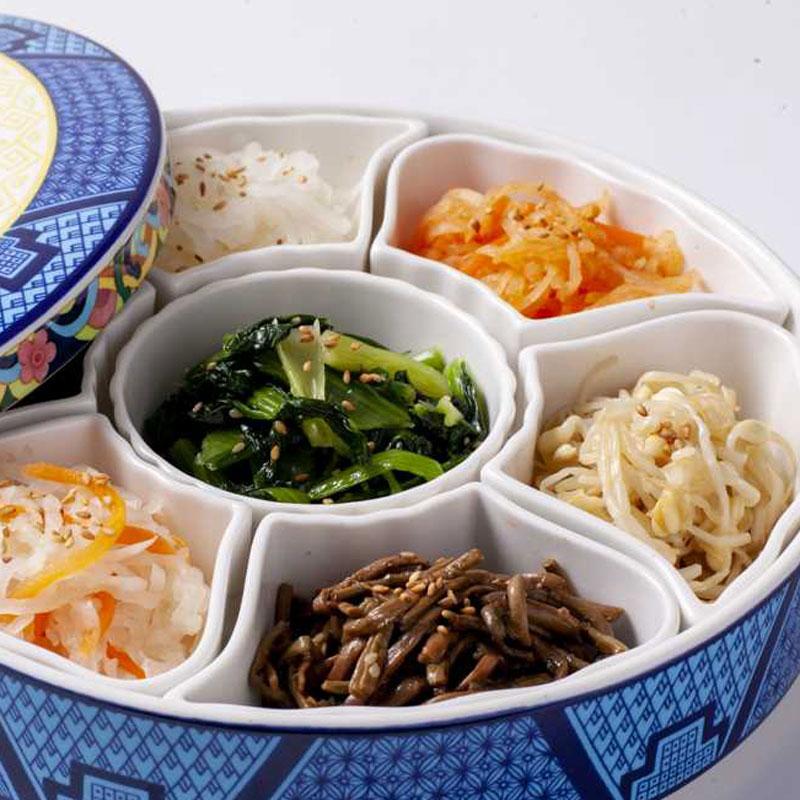 【冷凍商品】まとめ買いお得セット! 伝統の約束 4種の彩りナムル 3パック (冷蔵商品との同梱不可)