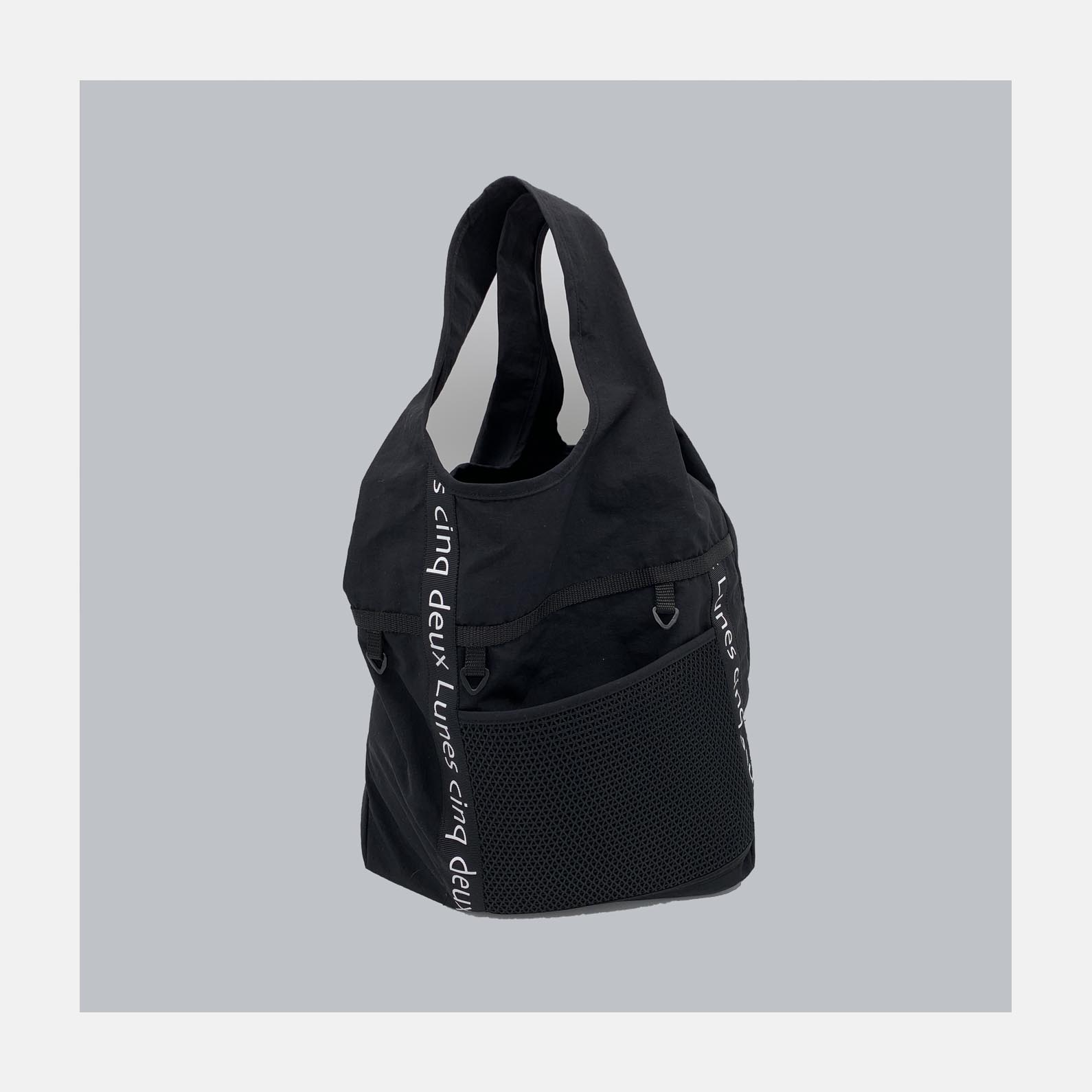 Nリップ logo tote bag<br>5000円~<br>( 1color )<br>(logo ribbon 7+2color options)