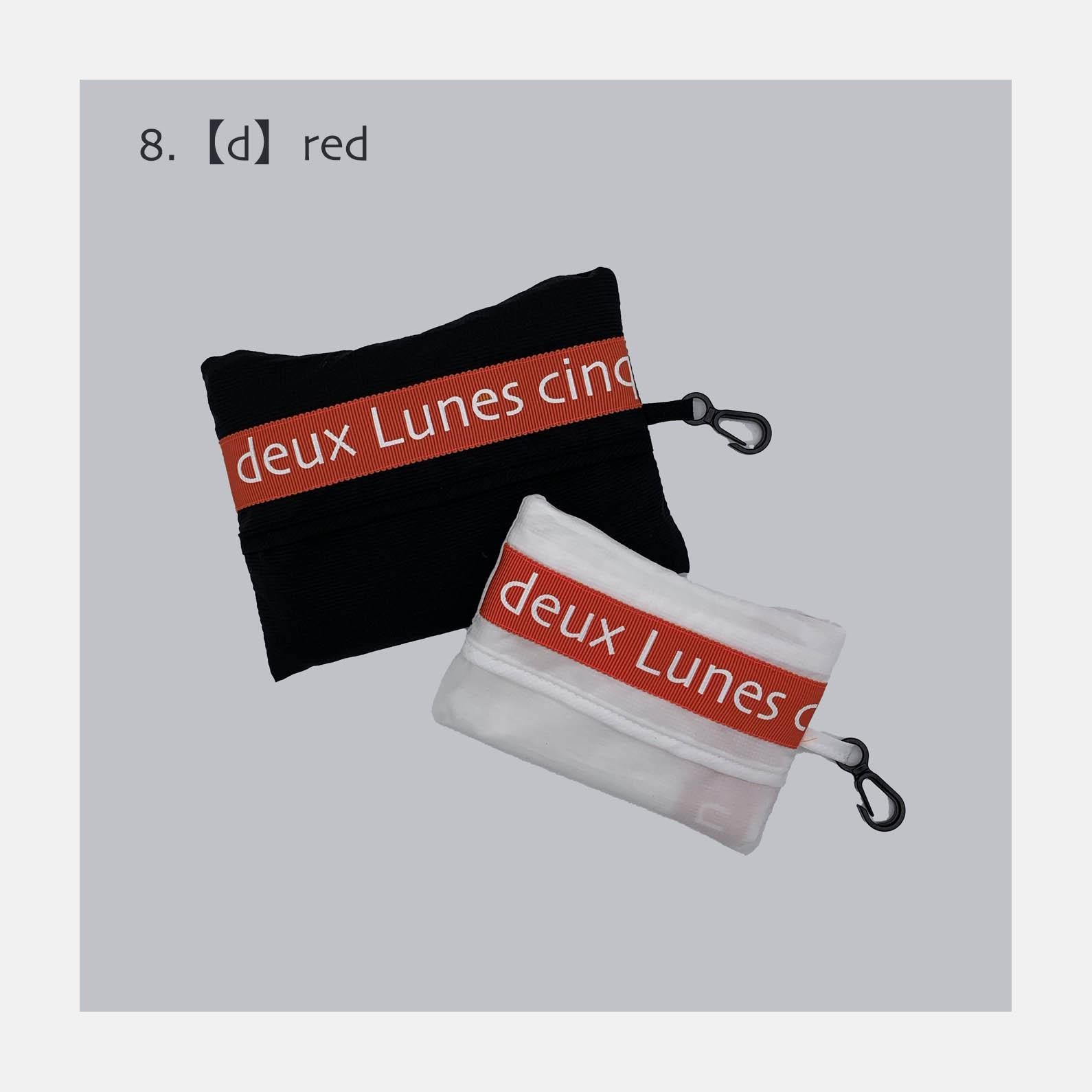 マッケンロー logo Bag <br>1.WHITE<br>3900円~<br>(logo ribbon 7+2color options)