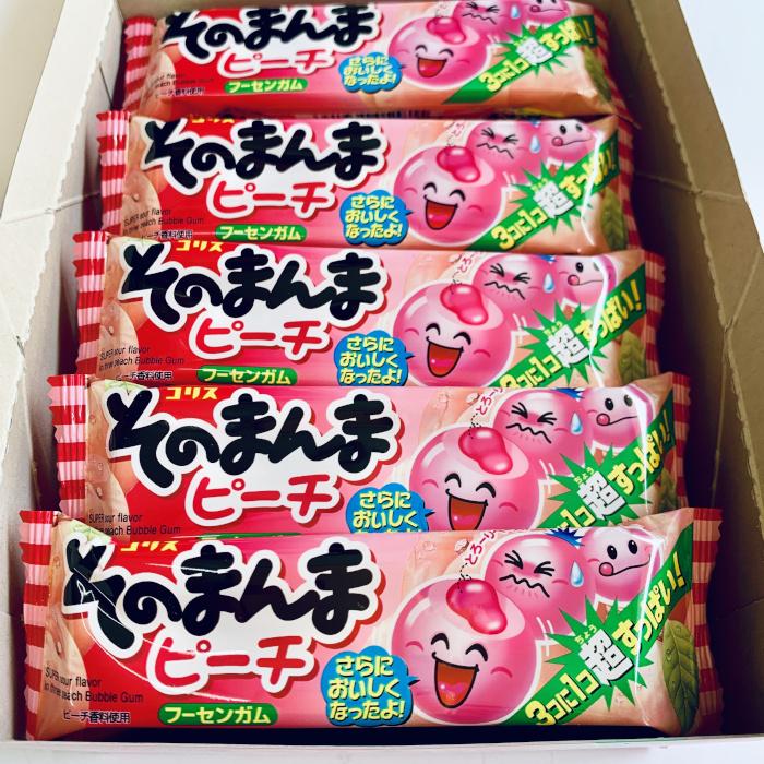 コリスガム/格安30円そのまんまピーチ 20個入