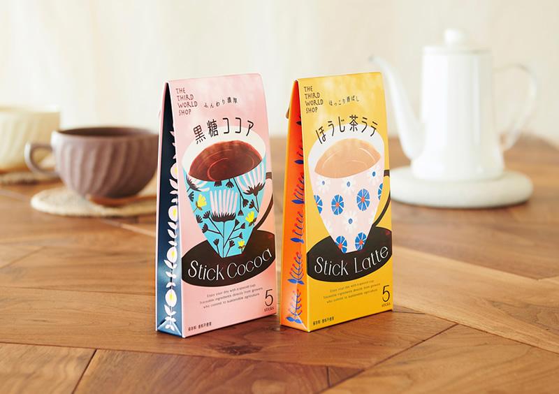 スティック 黒糖ココア 13g×5包 【オーガニック 有機栽培ココアパウダー】【粉乳・添加物不使用】