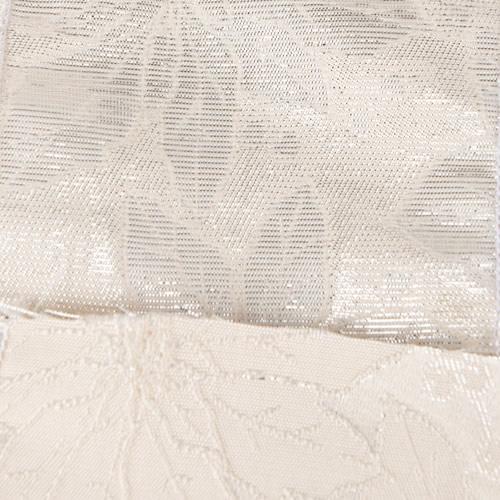 MING ワイヤーリボン ポインセチア (白) 幅10cm