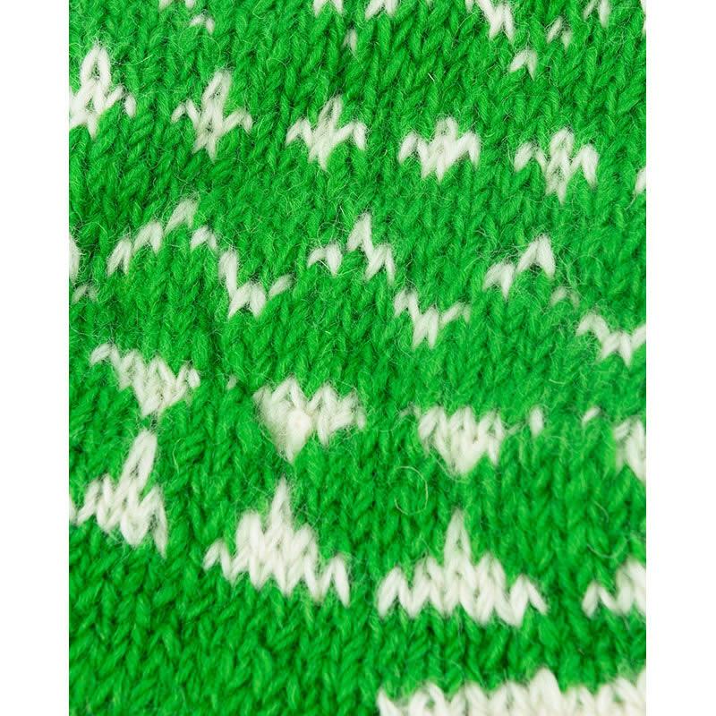 MING 手作りソックスオーナメント 40cm(緑)