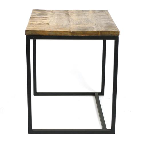MING マンゴーウッドのテーブル 高さ43cm