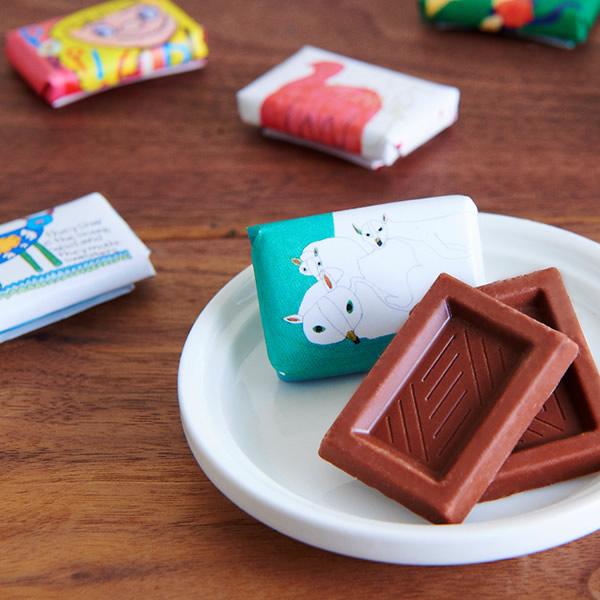【完売】【まとめて10個でお得】Artisan フェアトレードチョコレート ミルク スモールパック 5.5g×6個