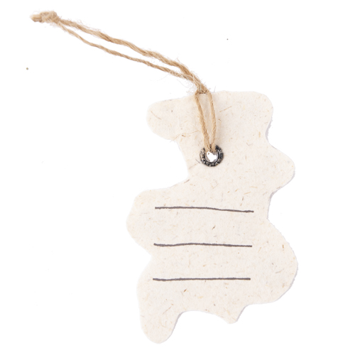 MING 手漉き紙 押し花のチャーム(ローズ゙)