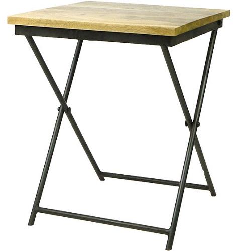 MING 折り畳み椅子(ブラックスタンド)