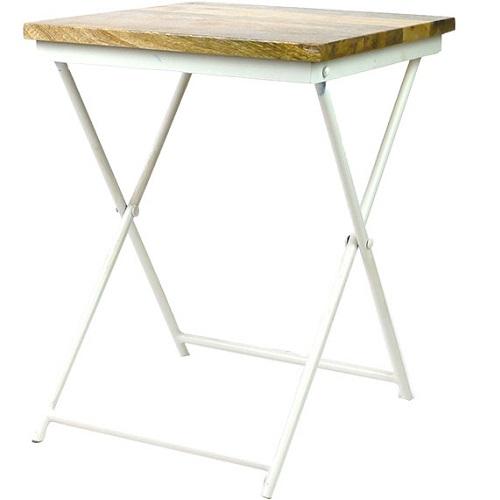 MING 折り畳み椅子(ホワイトスタンド)
