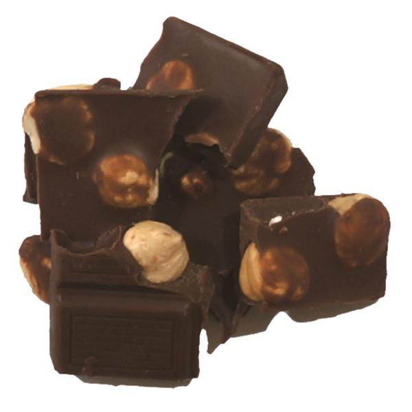 フェアトレードヘーゼルナッツチョコレート 100g 【オーガニック 有機栽培】【添加物不使用】【冬季限定】【メール便対応不可