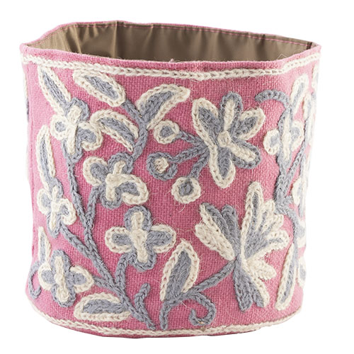 MING カシミール刺繍のポッド S(ピンク)