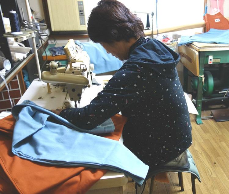 【上着のみ】日本製廣瀬屋細身 ヒヨクオープンシャツ アイボリー