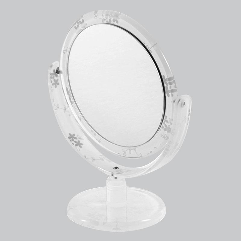 メルレット コスメティックミラーO型 GM-LA42(平面鏡&5倍拡大鏡)