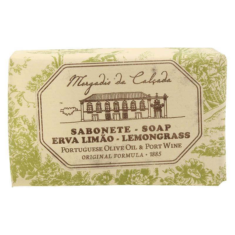 モルガディオ ダ カルサダ ウッドボックス ソープ3個入りセット レモングラス 95g×3