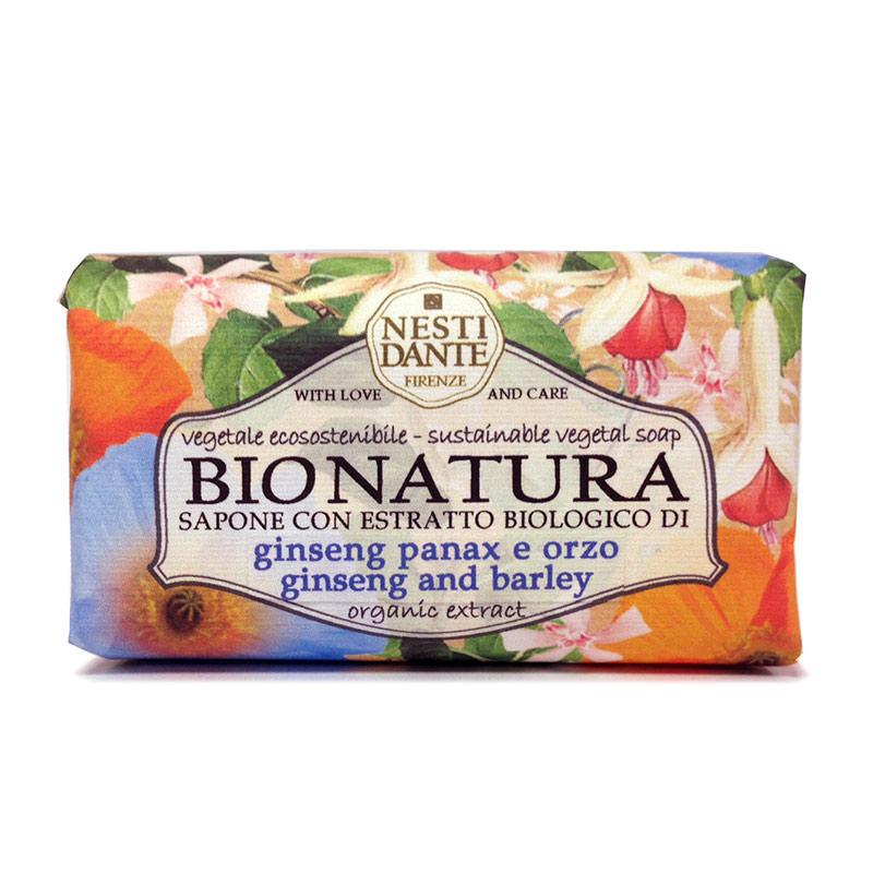 Nesti Dante ネスティ・ダンテ  BIO NATURA  ビオ ナチュラ ソープ250g ジンセン&バーレイ