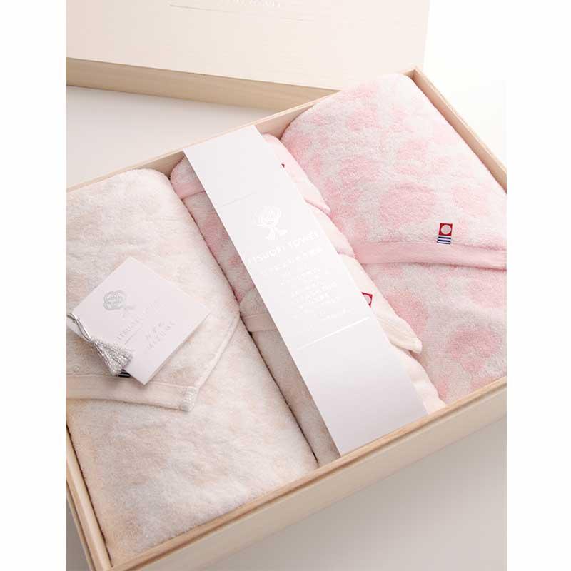 逸織タオル みずめ ITSUORI TOWEL MIZUME   バスタオル×2 フェイスタオル×2