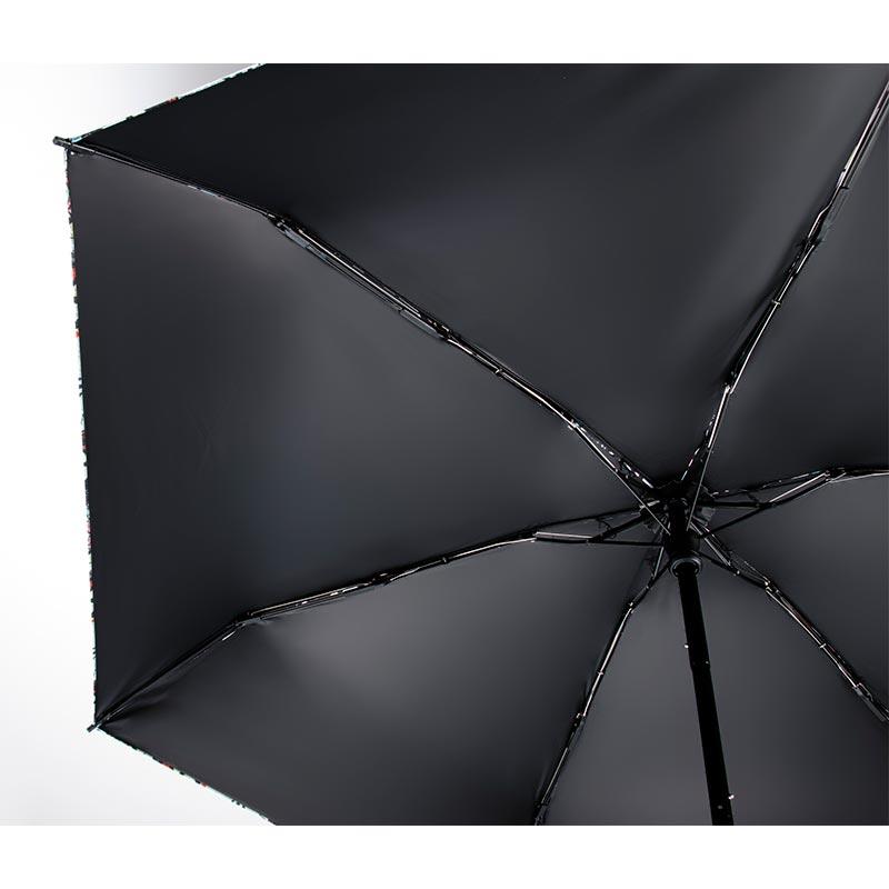 晴雨兼用折りたたみ傘 フラワーラビット ピンク