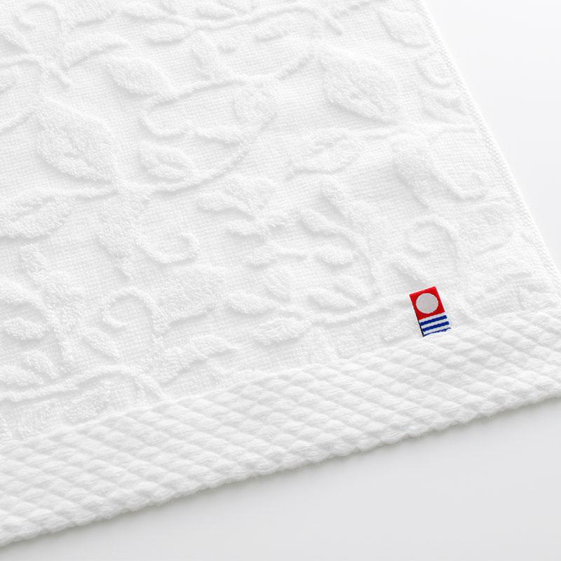 逸織タオル 憩 ITSUORI TOWEL IKOI   フェイスタオル x2 ( ITSIKI20BL)
