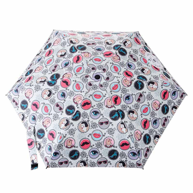 晴雨兼用折りたたみ傘 モンタージュ