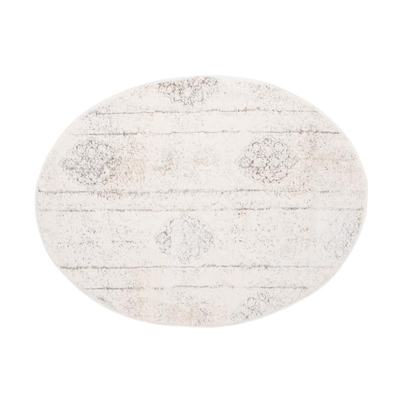 グランデックス ERINA エリナ オーバルマット 90×120cm