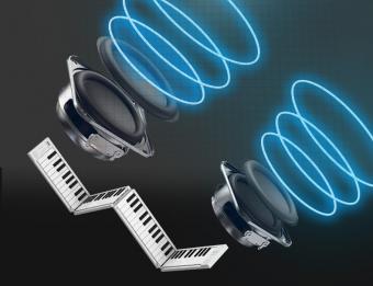 【折りたたみ式電子ピアノ/MIDIキーボード】ORIPIA88 オリピア