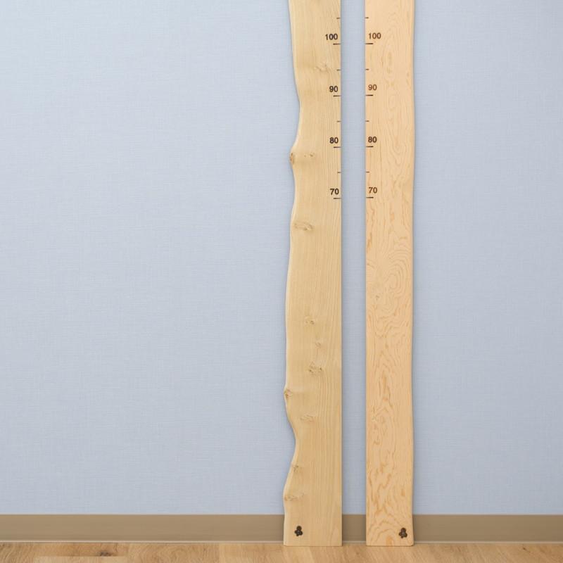 【Biko Wood Works】 身長計(背くらべ)