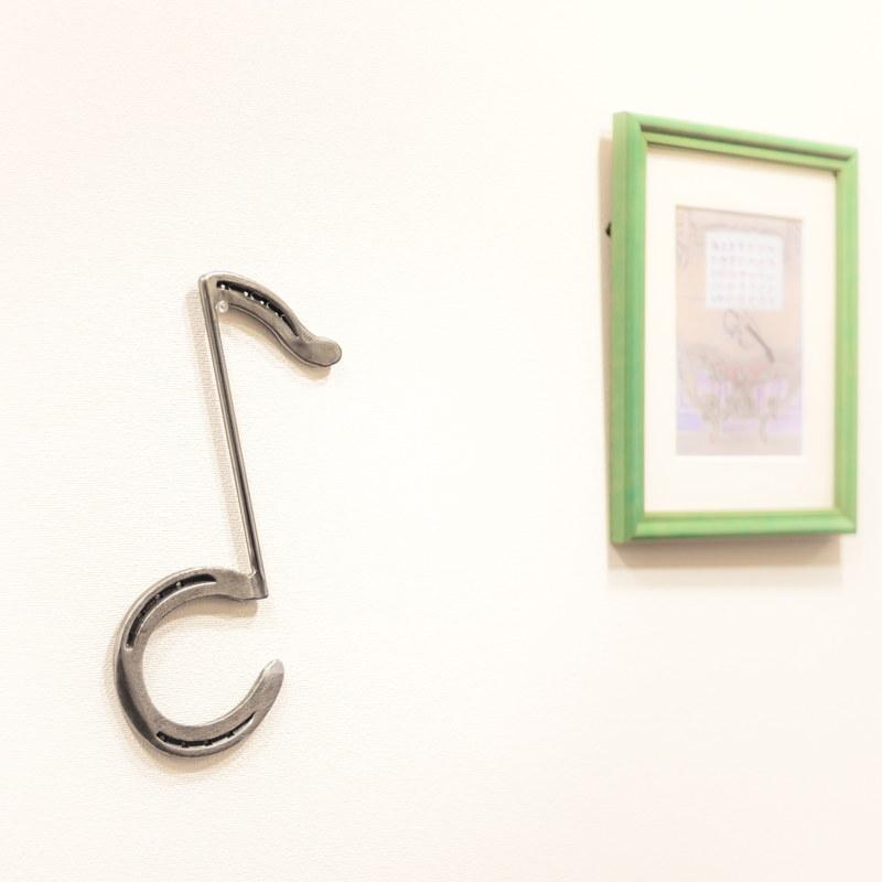 【ピアノの先生におすすめ】SEVEN HAPPINESS HORSE SHOE 蹄鉄オブジェ【縁起の良いインテリア】