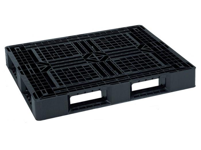 岐阜プラスチック工業 プラスチックパレット JL-D4・1210G 再生ブラック