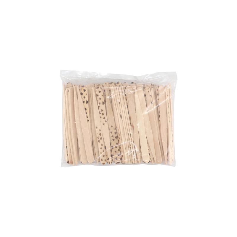 木製カトラリー ピックス 三角ドット