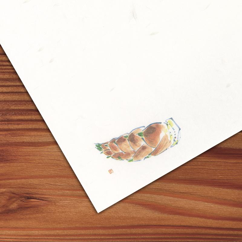 ケナフテーブルマット No.633 竹の子