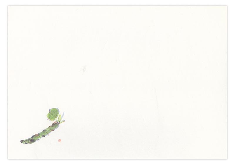 ケナフテーブルマット No.634 わさび